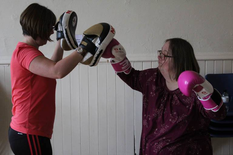 Big health and fitness Disability resource centre gym classes
